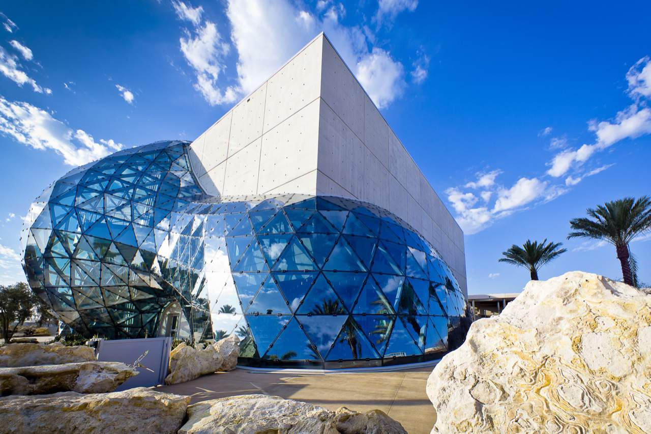 New Dali Museum in St. Petersburg, Florida